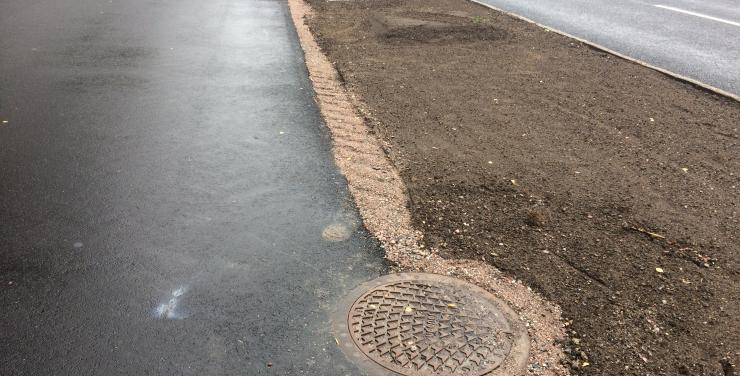 Stormwater filtration and phosphorus removal In Örebro (SW)