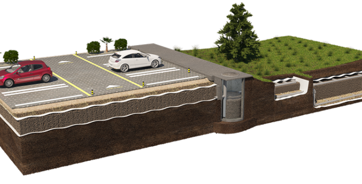 A complete Filtralite® solution to retain and treat stormwater